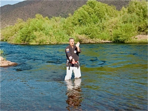 Sanchin Kata on the Lower Salt River, Tonto National Forest, Arizona, 2011