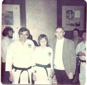 Sensei Nick - Myself (age 14) - Shihan Don Nagle (Isshin-Ryu Karate) (Circa 1975)