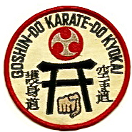 Goshin-Do Karate Kyokai patch