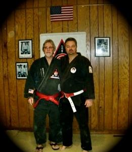 With Shihan Wayne Norlander, R.I.P.
