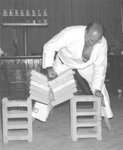 Sensei Paul Recchia at age 60 years old. Circa 1975.