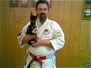 Little Chloe (R.I.P.) Issho Dojo, East Rutherford, NJ. Circa 2005