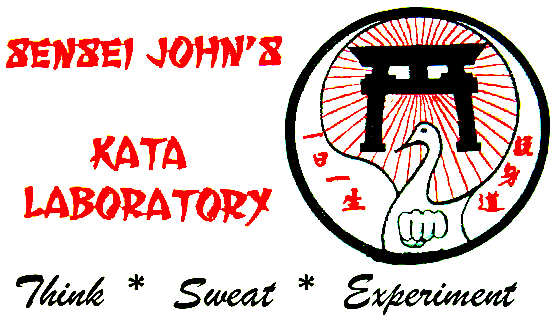 ... , On kata and bunkai, please feel free to visit Sensei John's Kata