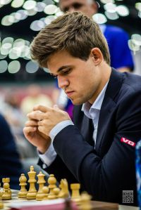 GM Magnus Carlsen, defending World Champion